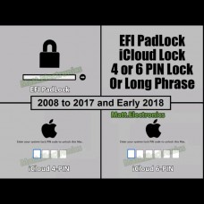 Apple Mac EFI & iCloud 4-6 PIN BIOS Password Removal Service + Latest macOS.