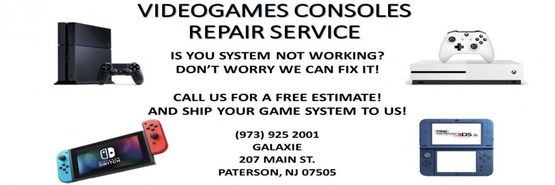 videogame flyer